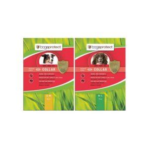 bogaprotect traindee natürliches zeckenhalsband für hunde und halsband gegen flöhe als repellent und schutz gegen parasiten mit margosa und geraniol öl extrakt